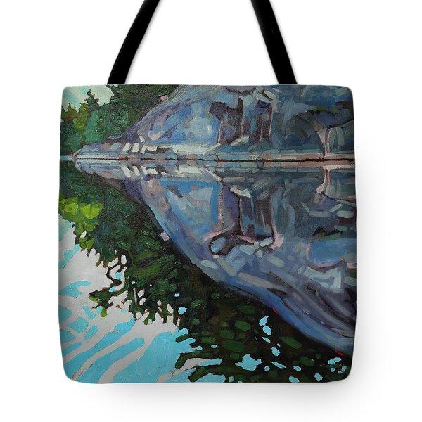 Singleton Marble Tote Bag