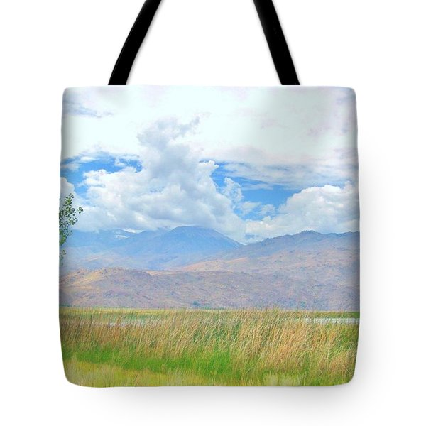 Tote Bag featuring the photograph Singular In The Summer by Marilyn Diaz