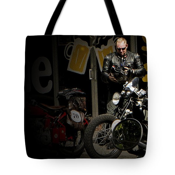 Sinister Character Tote Bag