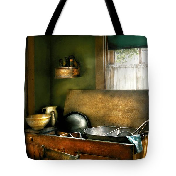 Sink - The Kitchen Sink Tote Bag by Mike Savad