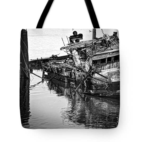 Sinking Tote Bag by Heather Applegate