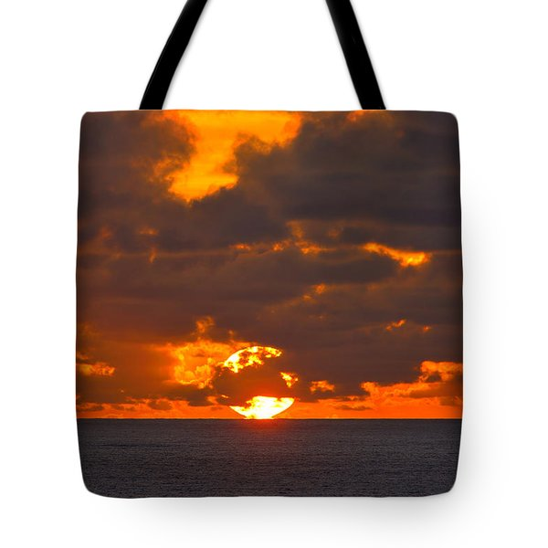 Sinking In The Sea Tote Bag