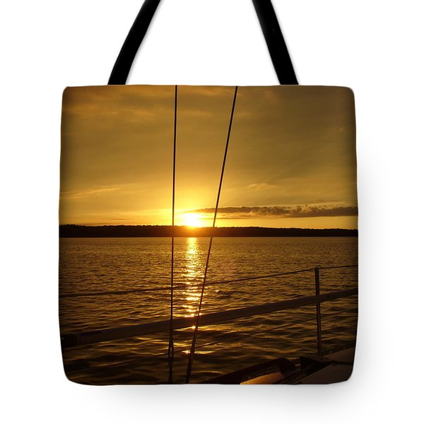Tote Bag featuring the photograph Stay Golden by Deena Stoddard
