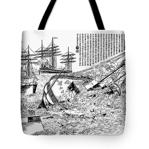 Sino-japanese War, 1894-5 Tote Bag