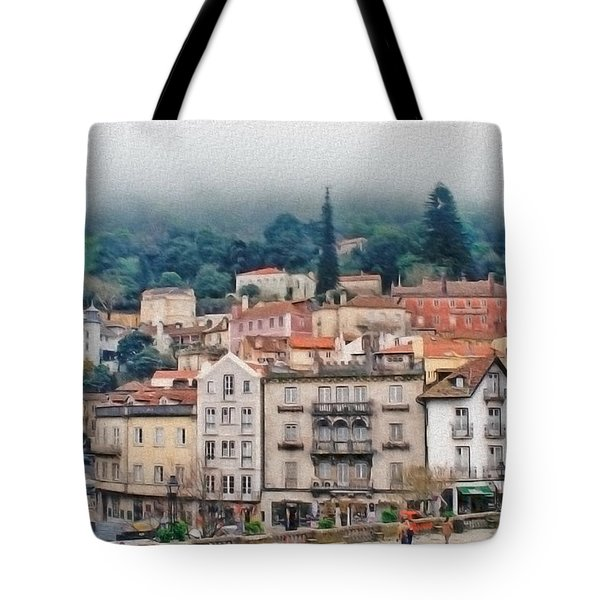 Sintra Townscape Tote Bag