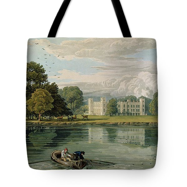 Sion House, Engraved By Robert Havell Tote Bag by William Havell
