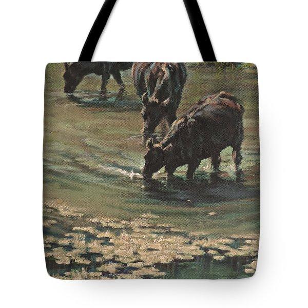 Sip N Dip Tote Bag by Mia DeLode