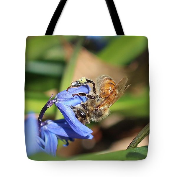 Sipping Upside-down Tote Bag