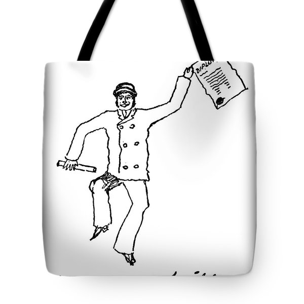 Sir Arthur Conan Doyle Tote Bag by Granger