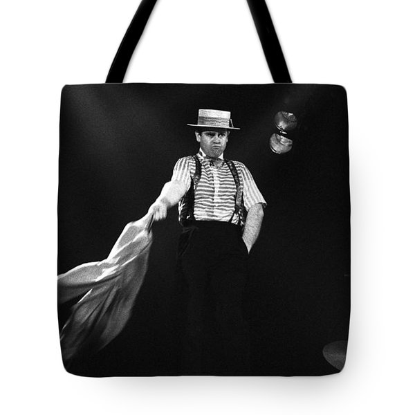 Sir Elton John Tote Bag by Dragan Kudjerski