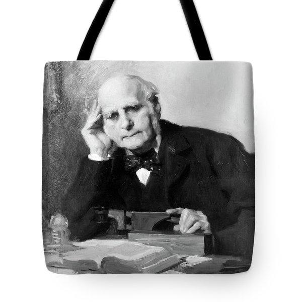 Sir Francis Galton (1822-1911) Tote Bag
