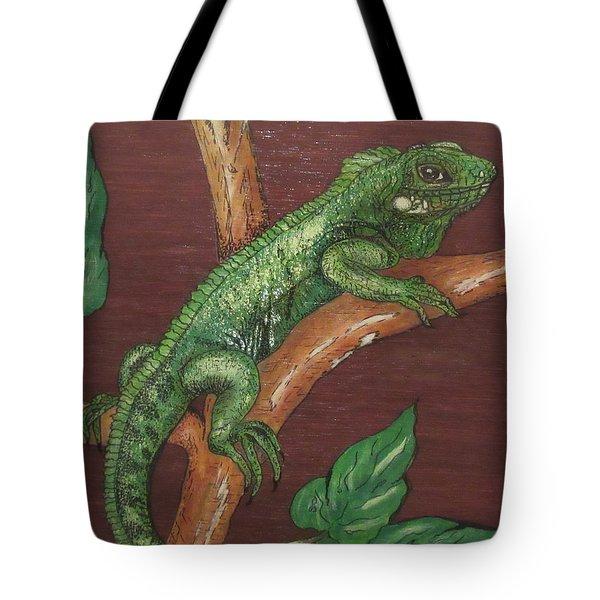 Sir Iguana Tote Bag