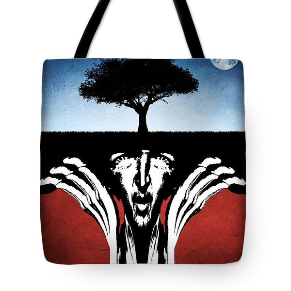 Tote Bag featuring the digital art Sir Real by Phil Perkins