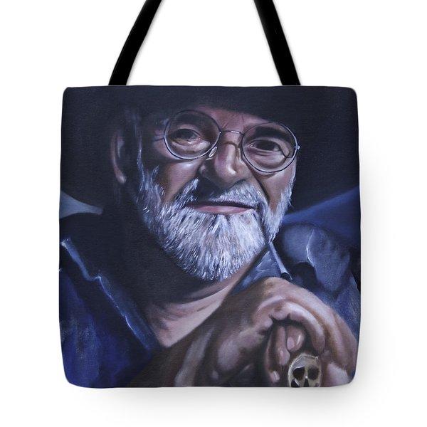 Sir Terry Pratchett Tote Bag