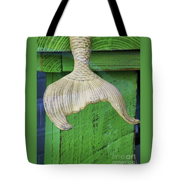 Siren's Tail Tote Bag by Joe Jake Pratt