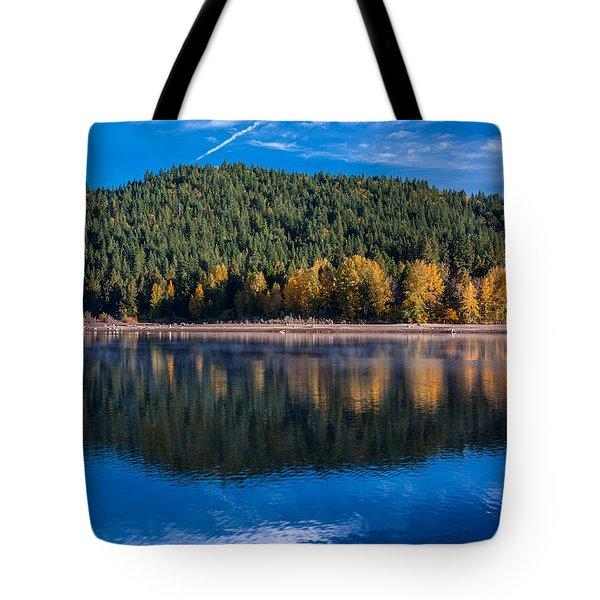 Siskiyou Lake Shoreline Tote Bag