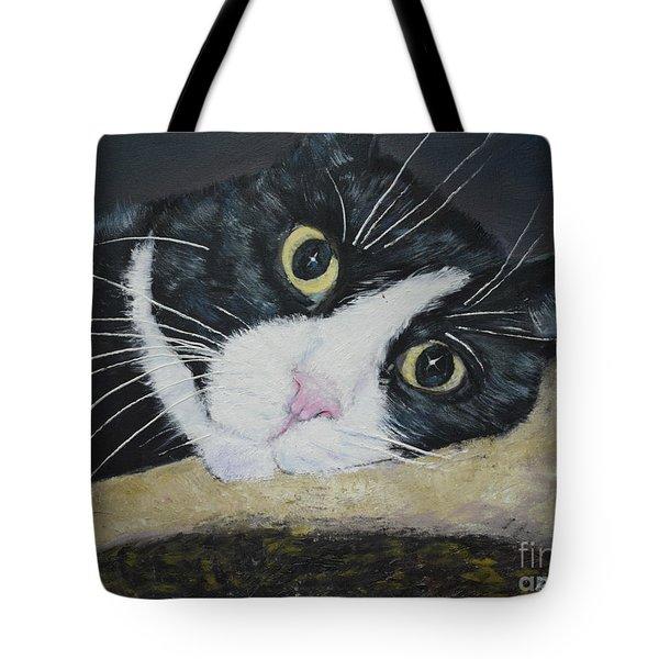 Sissi The Cat 3 Tote Bag