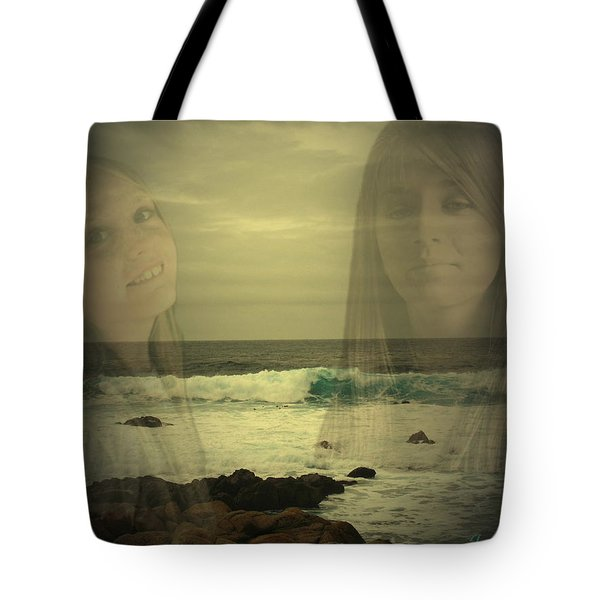 Tote Bag featuring the photograph Sisters Forever by Joyce Dickens