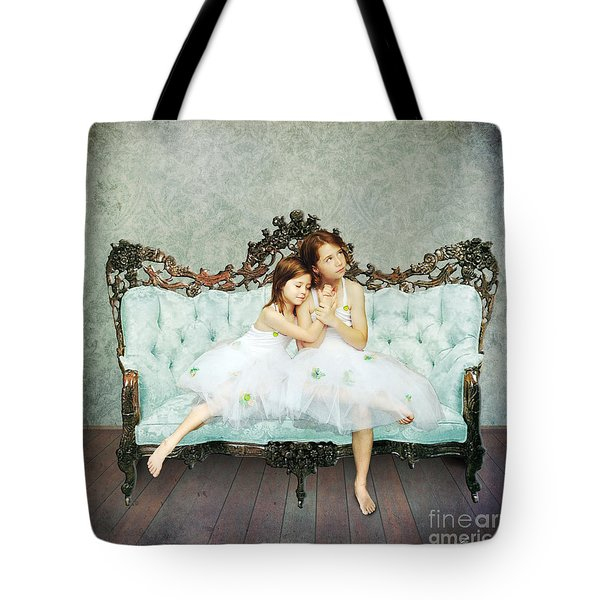 Sisters Tote Bag by Linda Lees