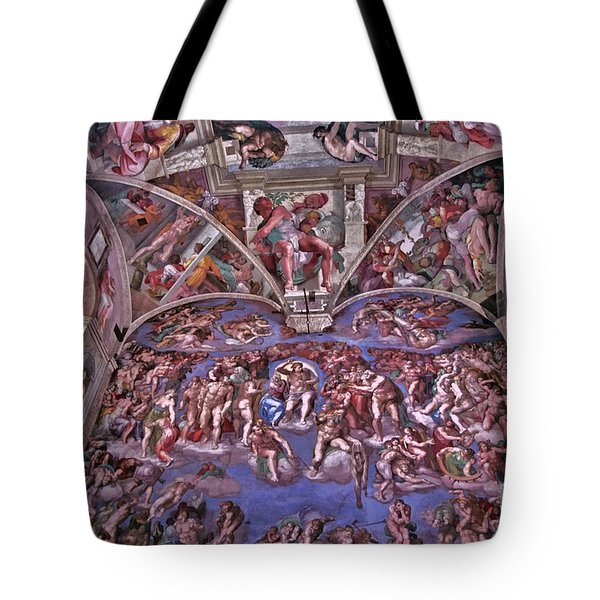 Tote Bag featuring the photograph Sistine Chapel by Allen Beatty
