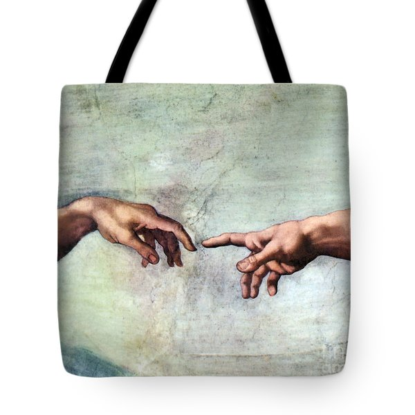 Sistine Chapel Tote Bag by SPL and Photo Researchers