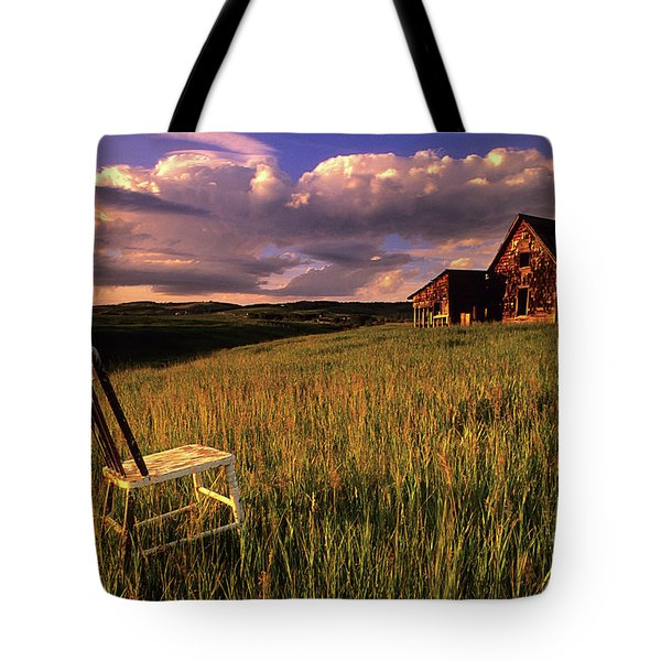 Sit A Spell Tote Bag by Bob Christopher