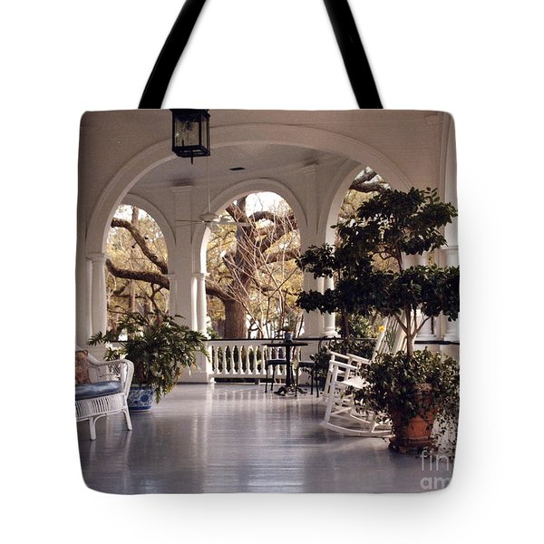 Sit-a-spell Tote Bag