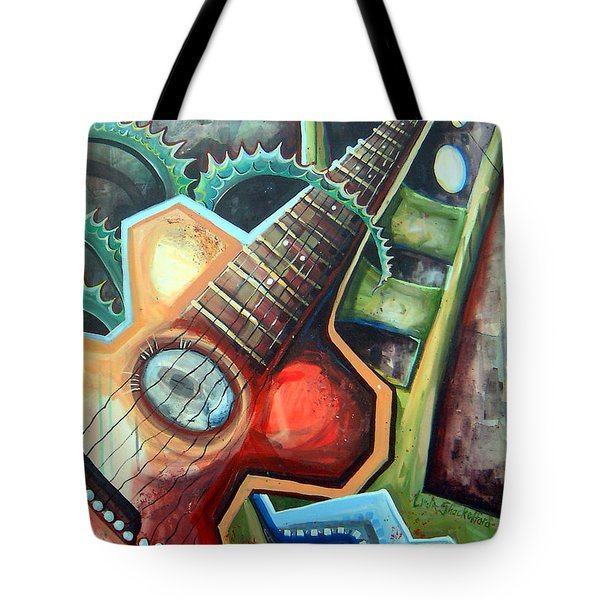 Sit Down Play Tote Bag