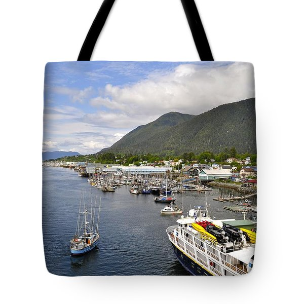 Sitka Channel Tote Bag by Cathy Mahnke