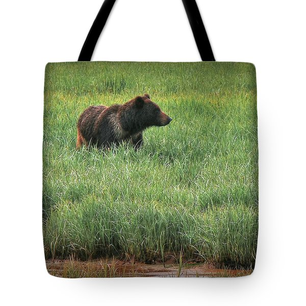 Sitka Grizzly Tote Bag