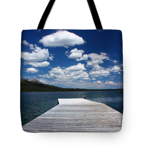 Sit'n Wasting Time Away Tote Bag