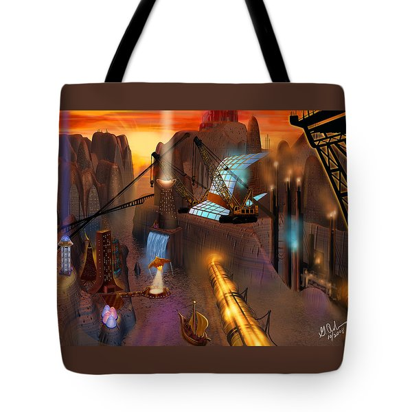 Siton Provence Tote Bag by Gerry Robins