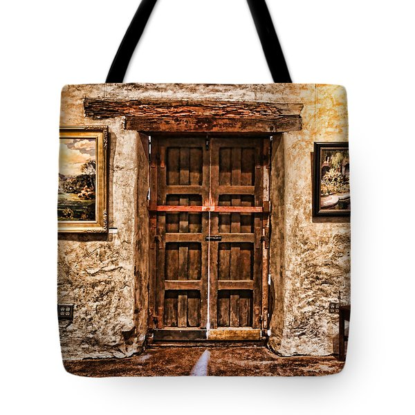 Sitting By The Door By Diana Sainz Tote Bag