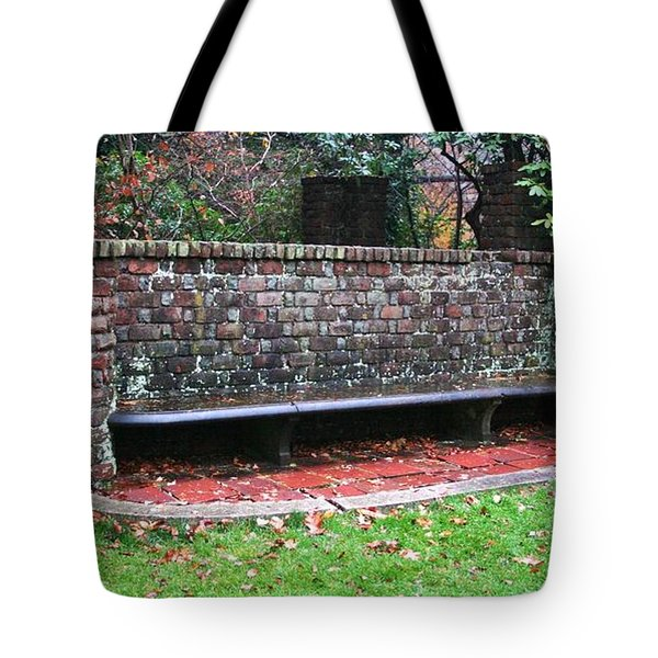 Sitting In Time Tote Bag