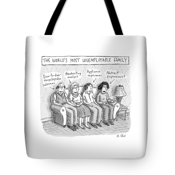 Sitting On A Sofa -- The World's Most Tote Bag