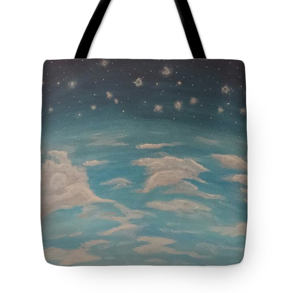 Sitting On Top Of The World Tote Bag by Thomasina Durkay