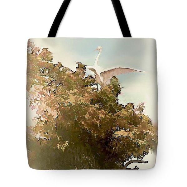Sitting Pretty Tote Bag by Bonnie Willis