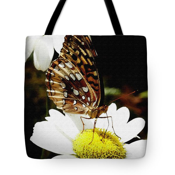 Tote Bag featuring the photograph Sitting Pretty  by James C Thomas