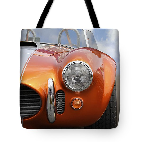 Sitting Pretty - Cobra Tote Bag by Mike McGlothlen