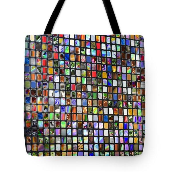 Six Hundred Rectangles Tote Bag