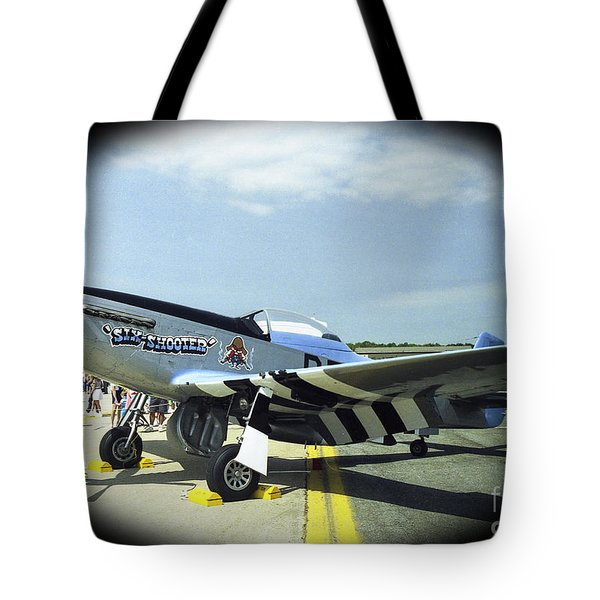 Six Shooter Left View Tote Bag