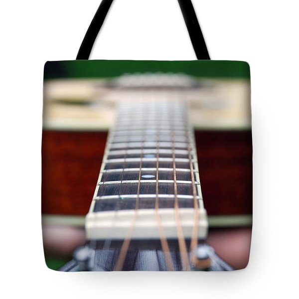 Six String Music Tote Bag