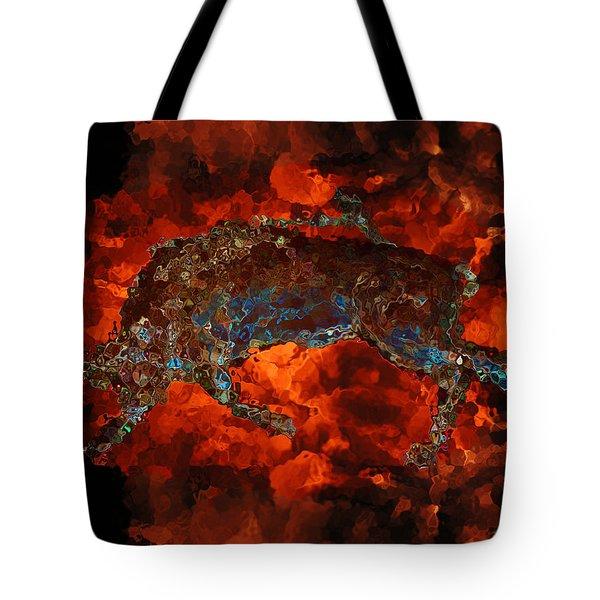 Sizzle Tote Bag by Stuart Turnbull