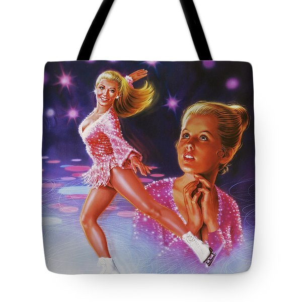 Skaters Dream Tote Bag by Dick Bobnick