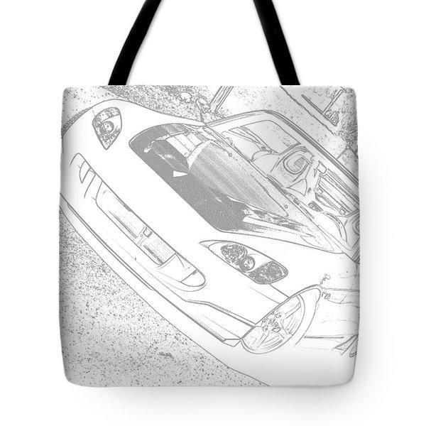 Sketched S2000 Tote Bag
