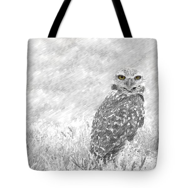 Sketching The Wise Guy Tote Bag