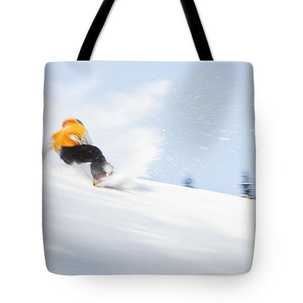 Sketchy Landing Tote Bag by Theresa Tahara