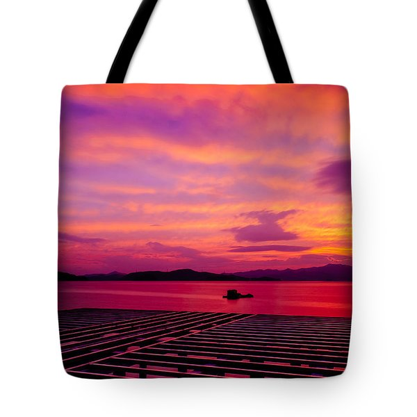 Skies Ablaze - Two Tote Bag