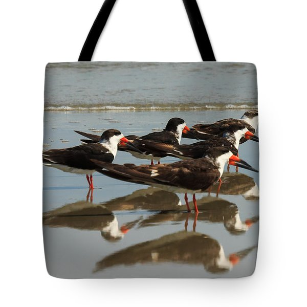 Skimmers With Reflection Tote Bag