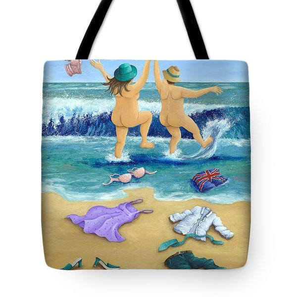 Skinny Dippers Tote Bag